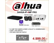 IP SET DAHUA, NVR + 4 KAMERE