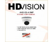 AHD 4.0MP DOME KAMERA 2.8-12MM