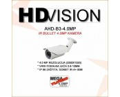 AHD 4.0MP BULLET KAMERA - 2.8-12MM / 60M IR