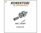 BNC CRIMP KONEKTOR ZA RG59 KABEL