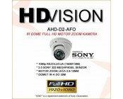 AHD 2.0MP DOME KAMERA - 2.8-12MM MOTOR ZOOM LEĆA